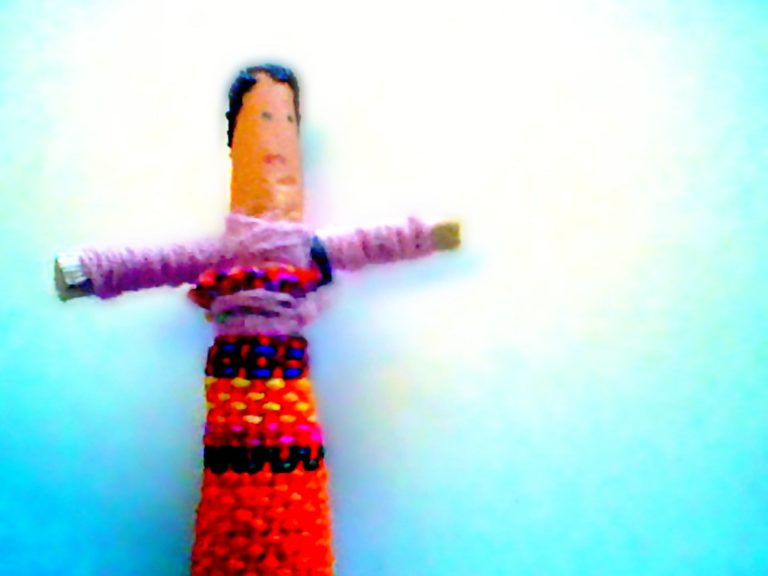 hand crafted worry doll