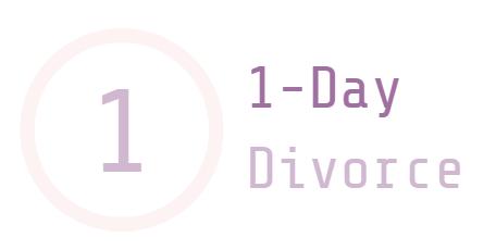 1 day divorce